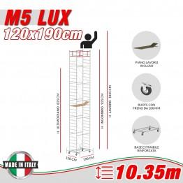 Trabattello M5 LUX Altezza lavoro 10,35 metri