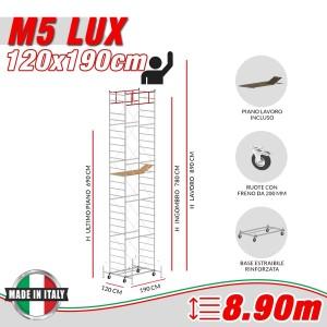 Trabattello M5 LUX Altezza lavoro 8,90 metri