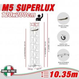 Trabattello M5 ITALY Altezza lavoro 10,35 metri
