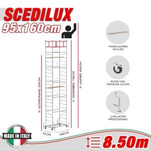 Trabattello SCEDILUX Altezza lavoro 8,50 metri