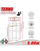 Trabattello TERNO-1 Altezza lavoro 5 metri