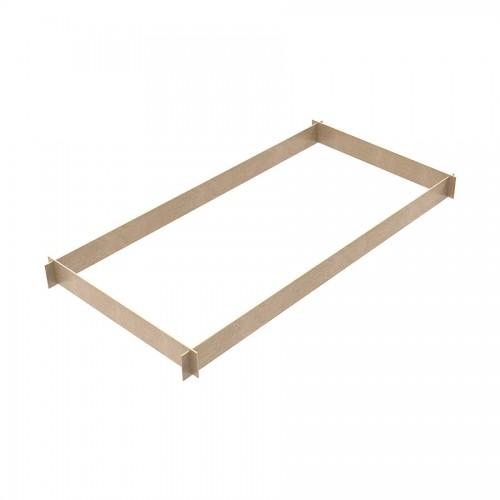 Fermapiede in legno 4 lati per trabattelli TITANIUM PRO