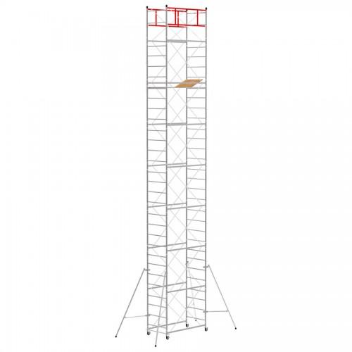 Trabattello M4 LUX base normale Altezza lavoro 10,85 metri