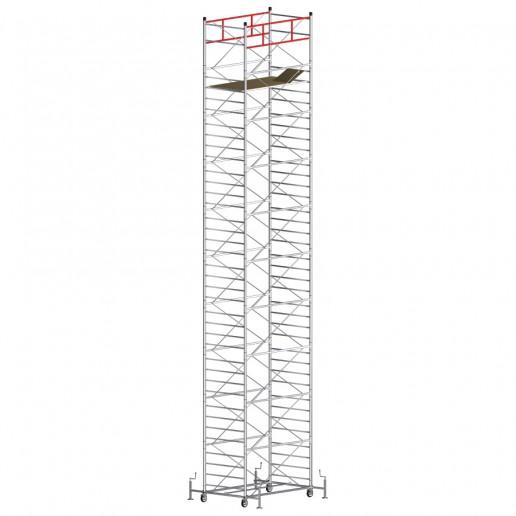 Trabattello TITANIUM PRO Altezza lavoro 13,25 metri