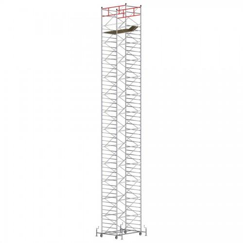 Trabattello TITANIUM PRO Altezza lavoro 16,75 metri