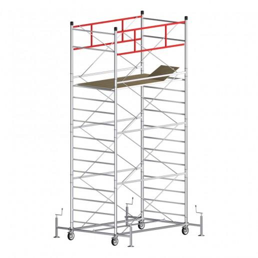 Trabattello TITANIUM PRO Altezza lavoro 6,20 metri