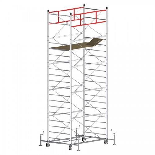 Trabattello TITANIUM PRO Altezza lavoro 7,40 metri