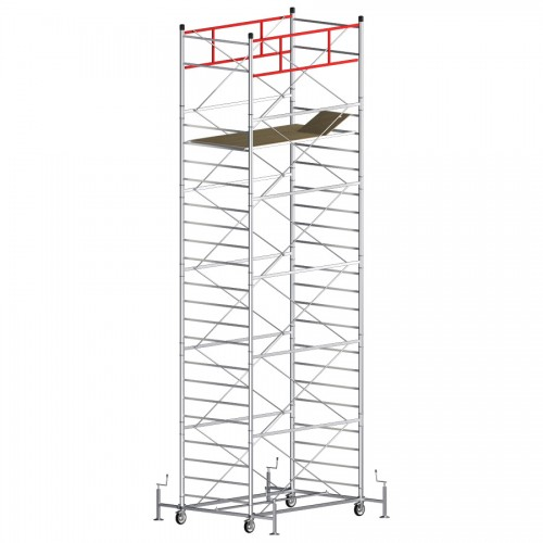 Trabattello TITANIUM PRO Altezza lavoro 8,55 metri